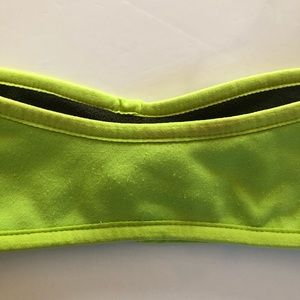 Nike Accessories - NIKE Green Fleece Reversible HEADBAND